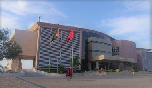 Presidential Palace in Mozambique