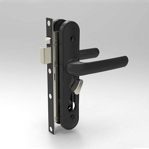 AS7031-02-KB1 Australia Type Security Door Lock